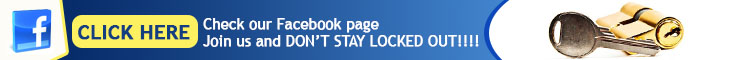 Join us on Facebook - Locksmith Carol Stream